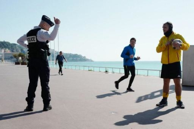 France: fermeture de la célèbre Promenade des Anglais à Nice