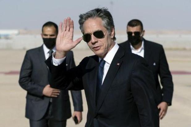 Amerikaans minister van BZ wil via Egypte Israëlisch-Palestijns bestand bestendigen