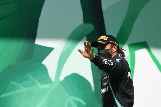 Hamilton sneller dan Bottas en Leclerc in tweede vrije oefensessie