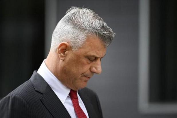 Afgetreden Kosovaarse president Thaçi opgesloten in cel in Den Haag