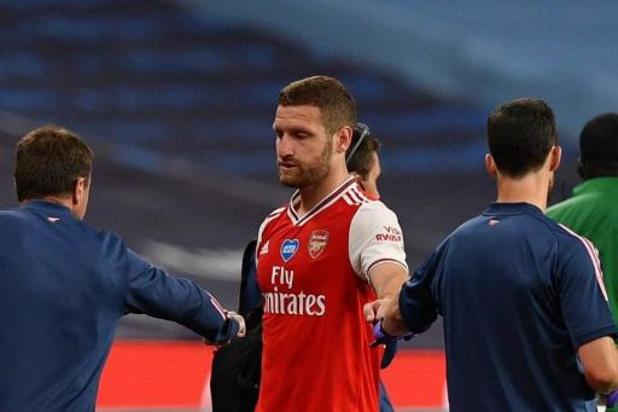 Arsenal privé de Shkodran Mustafi au moins jusqu'en octobre