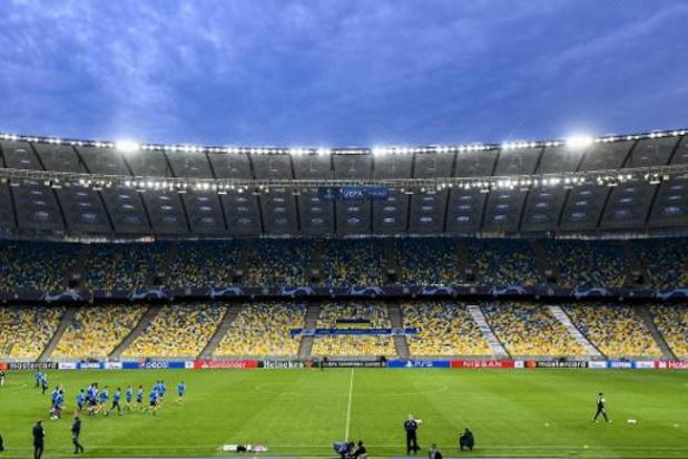 Le match entre le Dynamo Kiev et Bruges avancé à 16h en raison des conditions climatiques