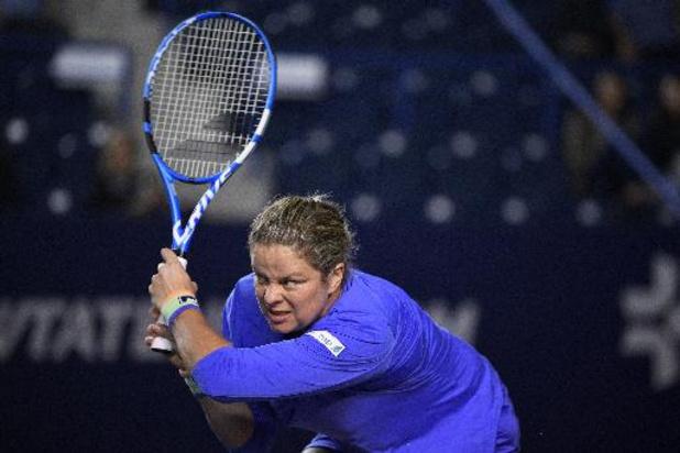WTA Chicago - Strijdvaardige Kim Clijsters verliest opnieuw in eerste ronde