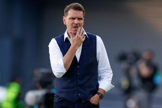 """Euro 2020 - """"On a joué avec la peur au ventre"""", regrette Tarkovic, le sélectionneur slovaque"""