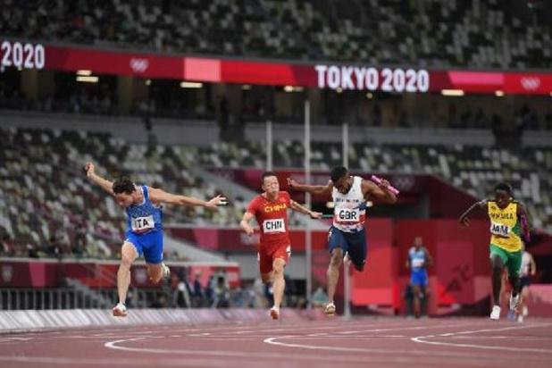 L'Italie championne olympique du 4x100 m masculin