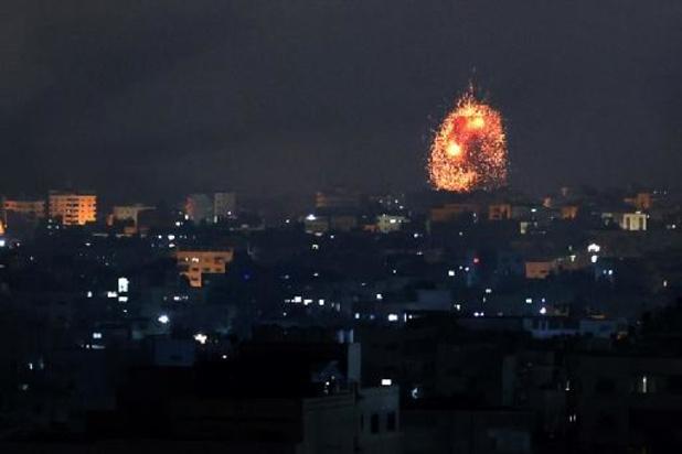 Onrust Midden-Oosten - Israëlische grondtroepen vallen doelen aan in Gazastrook