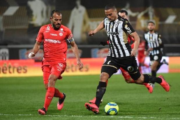 Le Marocain Rachid Alioui prêté avec option d'achat par le SCO Angers à Courtrai
