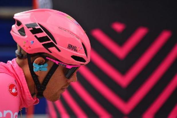 De Marchi moet na zware val Ronde van Italië verlaten