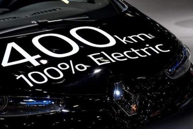 Interesse bij particulieren voor elektrische wagen blijft zeer klein