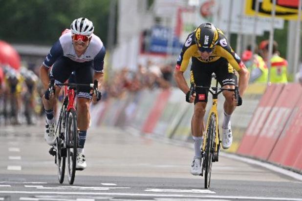 Wout van Aert (Jumbo Visma) est le nouveau champion de Belgique sur route