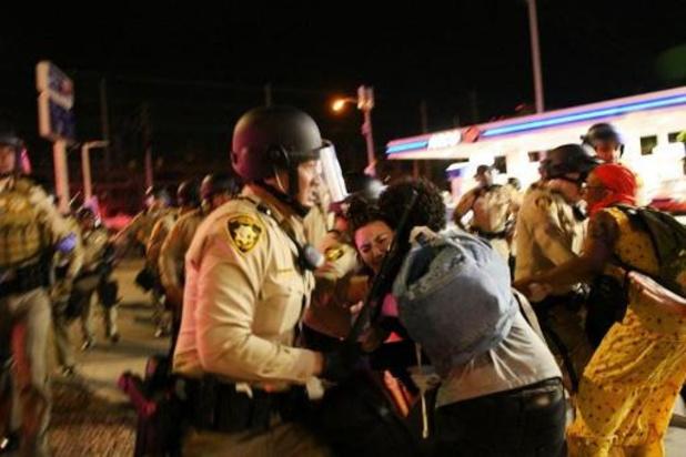 Agent in hoofd geschoten in Las Vegas