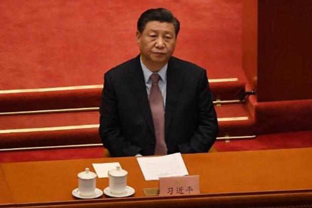 Chinese president vraagt in gesprek met Merkel om meer samenwerking en minder inmenging