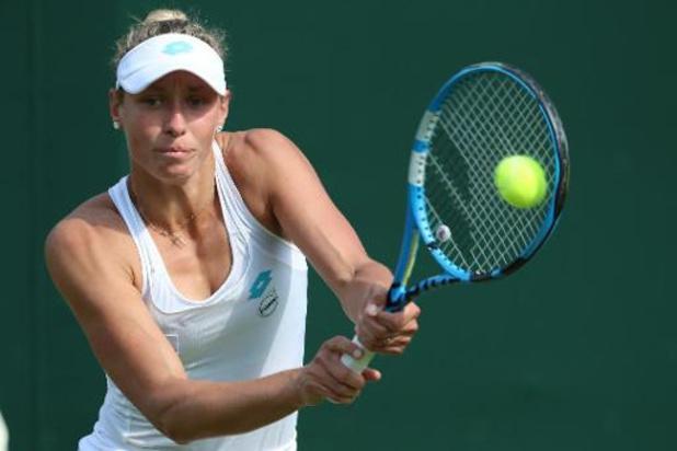 Yanina Wickmayer au 2e tour des qualifications