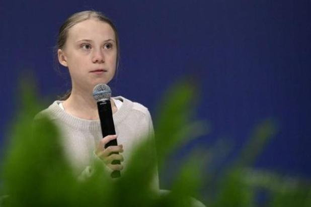 """""""In een crisis moet iedereen een stap terug doen"""" Greta Thunberg"""