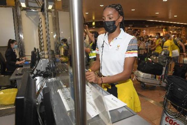 OS 2020 - Olympische delegatie vertrokken op Brussels Airport