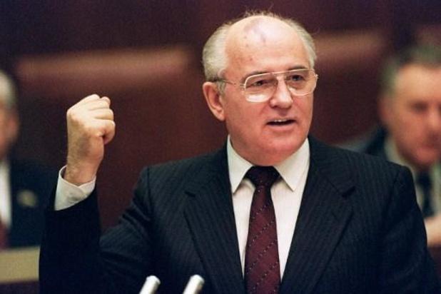 "Tensions Russie-Occident: ""un danger colossal"" selon Gorbatchev"