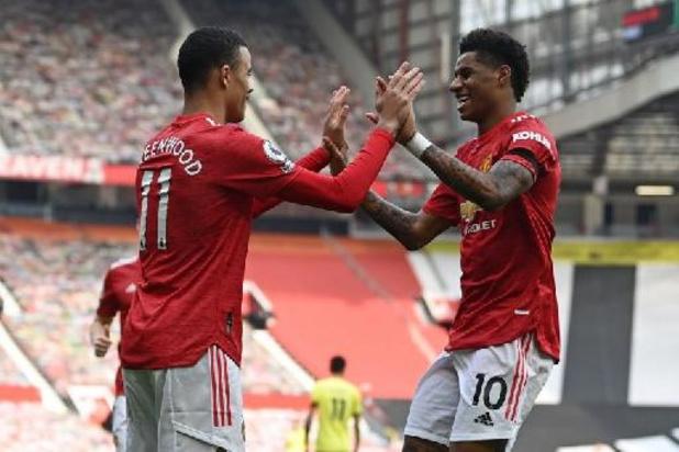 Premier League - Greenwood voorkomt puntenverlies voor Manchester United tegen Burnley