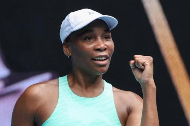 """Venus Williams : """"Flipkens est toujours difficile à man?uvrer, super talentueuse"""""""