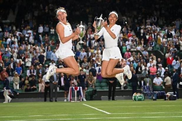 WTA Cincinnati - Elise Mertens ook in dubbelspel uitgeschakeld