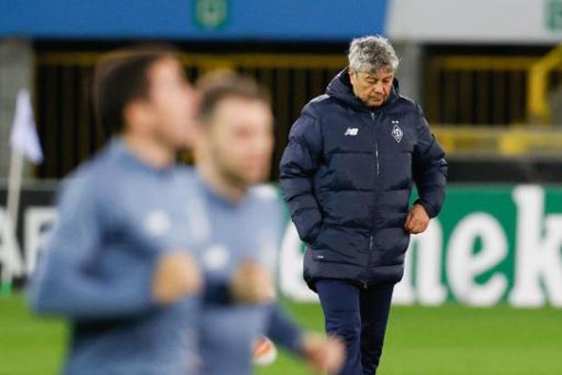 """Europa League - Lucescu a mené Kiev en huitièmes en battant le Club de Bruges: """"Le plan a fonctionné"""""""
