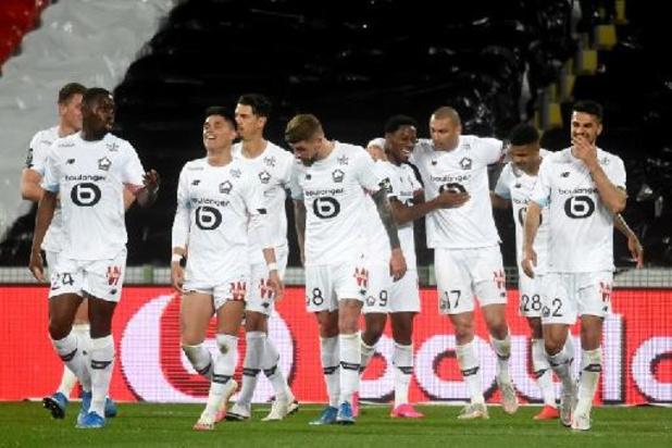 Ligue 1 - Lille s'impose à Lens et prend provisoirement 4 points d'avance