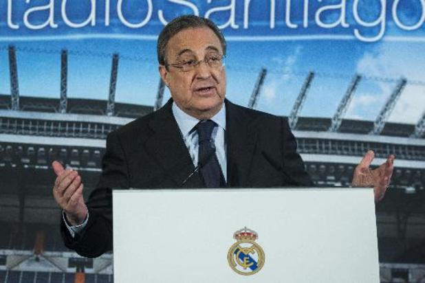 """""""Le football doit s'adapter et la Super League va le sauver"""", affirme le président du Real"""