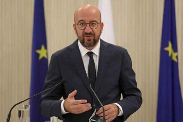UE: Charles Michel doute de l'intérêt d'abandonner l'unanimité en politique étrangère