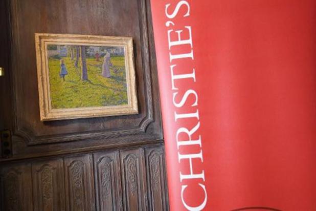 Schilderij van Théo van Rysselberghe bij Christie's geveild voor meer dan 5 miljoen euro