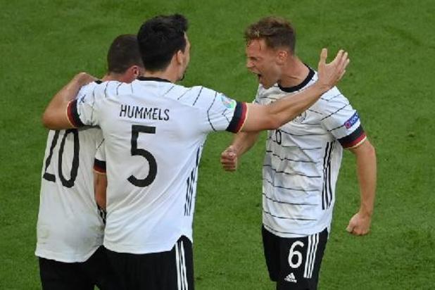 Euro 2020 - L'Allemagne domine le Portugal (2-4) et rabat les cartes dans le groupe F