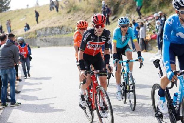 Tour de Catalogne: Lotto Soudal avec cinq Belges au départ