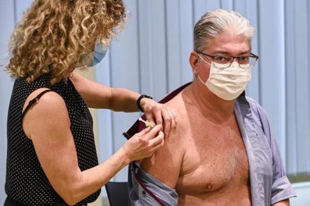 Volgende week 40 procent minder coronavaccins toegediend in Vlaanderen
