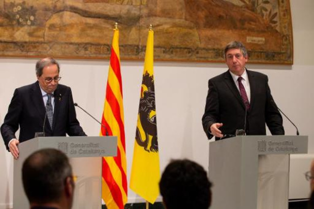 Jambon wil dat Charles Michel optreedt in Catalonië