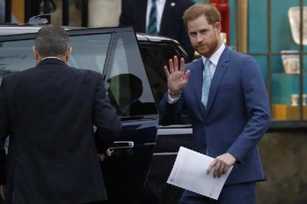 Le Prince Harry de retour en Grande-Bretagne