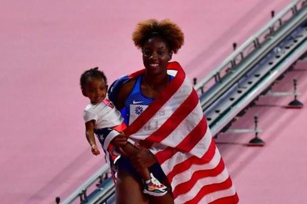WK atletiek - Nia Ali verovert wereldtitel 100m horden