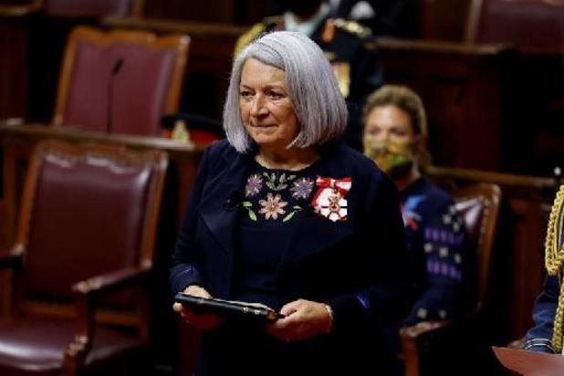 Inuk Mary Simon eerste inheemse gouverneur-generaal van Canada