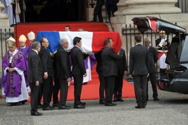Minute de silence et derniers hommages politique et privé à Jacques Chirac