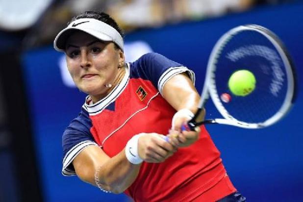 US Open: Bianca Andreescu, lauréate en 2019, adversaire de Greet Minnen au 3e tour