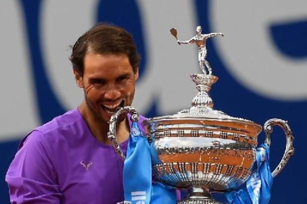 Le 12e sacre de Rafael Nadal en chiffres