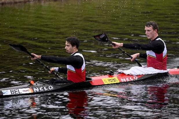 Qualifications olympiques de kayak - Le duo Artuur Peters-Bram Sikkens, 8e de la finale du K2 1.000m, n'ira pas aux JO de Tokyo