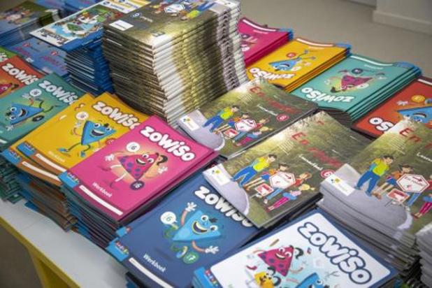 Helft scholen verplicht elk jaar nieuwe boeken