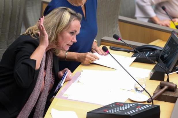 Le débat sur la déclaration gouvernementale suspendu au parlement flamand