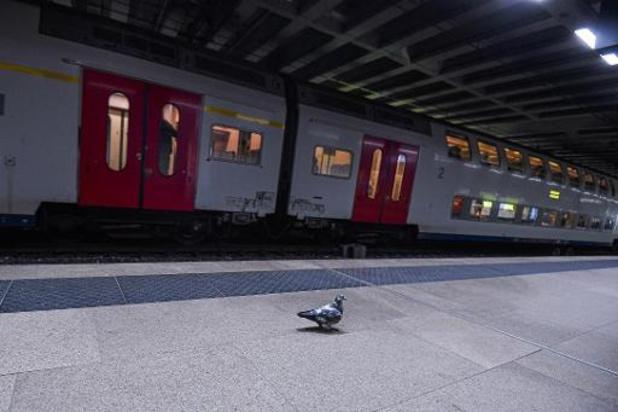 Le trafic ferroviaire international fortement perturbé