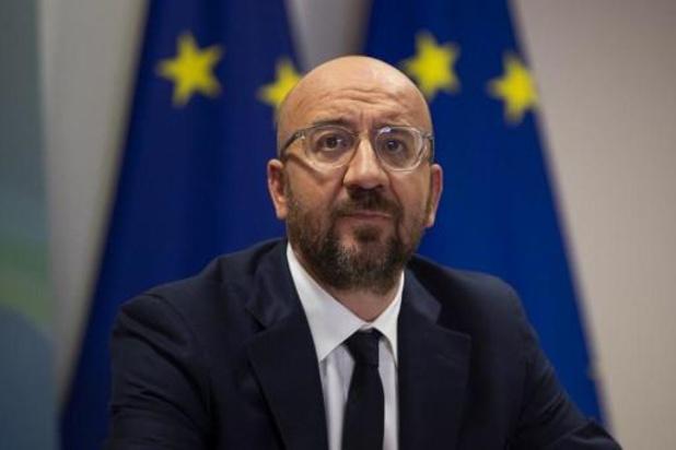 """""""La responsabilité d'aboutir est collective"""", souligne Charles Michel"""