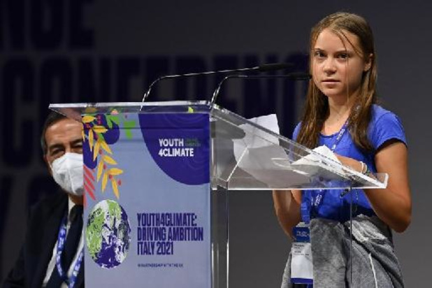 """Greta Thunberg dénonce 30 ans de """"bla bla"""" sur le climat"""