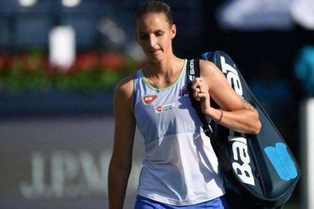 WTA : Pliskova et Kenin, les deux premières têtes de série, éliminées au 2e tour