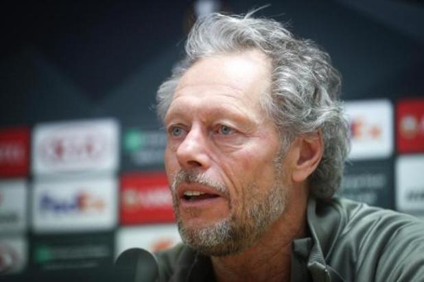 Europa League - Standard-coach Preud'homme ondanks uitschakeling trots op Europese campagne