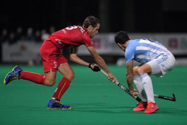 JO 2020 - Les Red Lions battent sur le fil l'Argentine 4-3 en match de préparation à Brasschaat