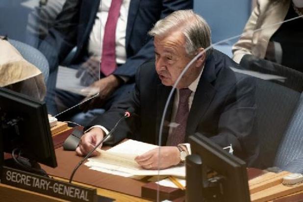 Le chef de l'ONU dénonce des promesses talibanes non tenues à l'égard des femmes