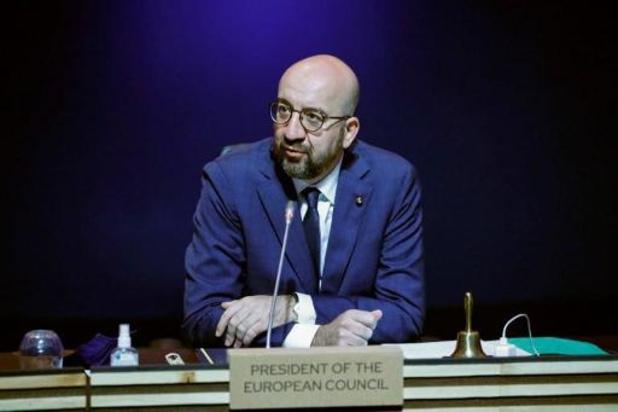 Charles Michel s'entretient avec Reuven Rivlin, appelle à la désescalade