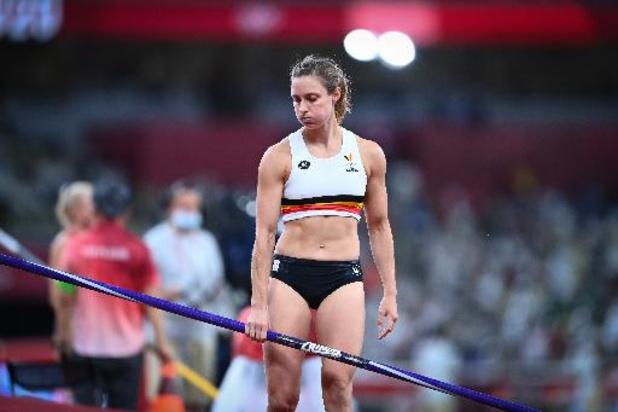 JO 2020: Fanny Smets ne s'explique pas son concours de qualification à la perche manqué